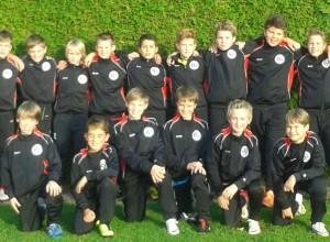 Mannschaftsfoto Fussball D-Jugend