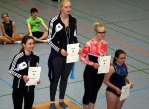 Sieger der Trampolin Kreismeisterschaft 2015 in Stadthagen